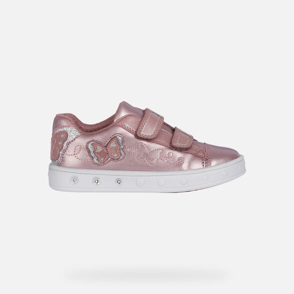 CHAUSSURES LED FILLE GEOX SKYLIN FILLE - 2