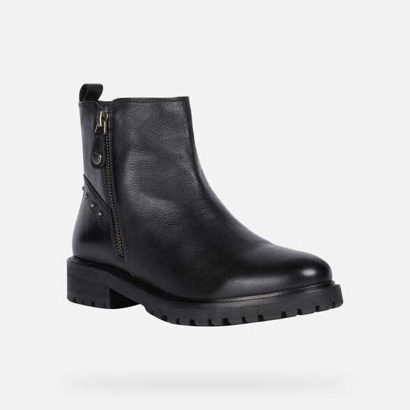 ANKLE BOOTS WOMAN GEOX HOARA WOMAN - 3