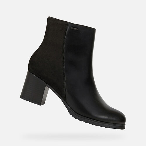 ANKLE BOOTS WOMAN GEOX NEW LISE ABX WOMAN - null