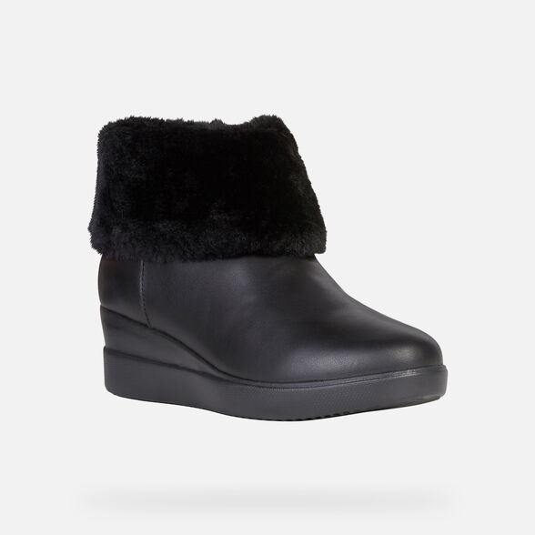 ANKLE BOOTS WOMAN GEOX STARDUST WOMAN - 3