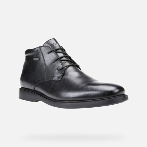 FORMAL SHOES MAN GEOX BRAYDEN ABX MAN - 4