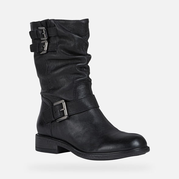 WOMAN ANKLE BOOTS GEOX CATRIA WOMAN - 3