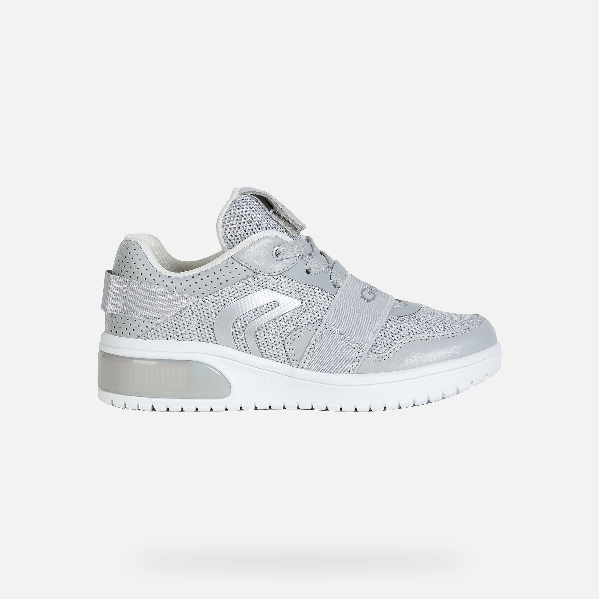 Geox XLED Bambina: Sneakers Grigio chiaro | Geox SS20
