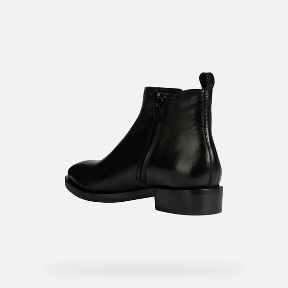 ANKLE BOOTS WOMAN BROGUE - 4