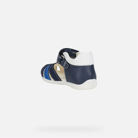 FIRST STEPS BABY GEOX ELTHAN BABY BOY - NAVY AND ROYAL