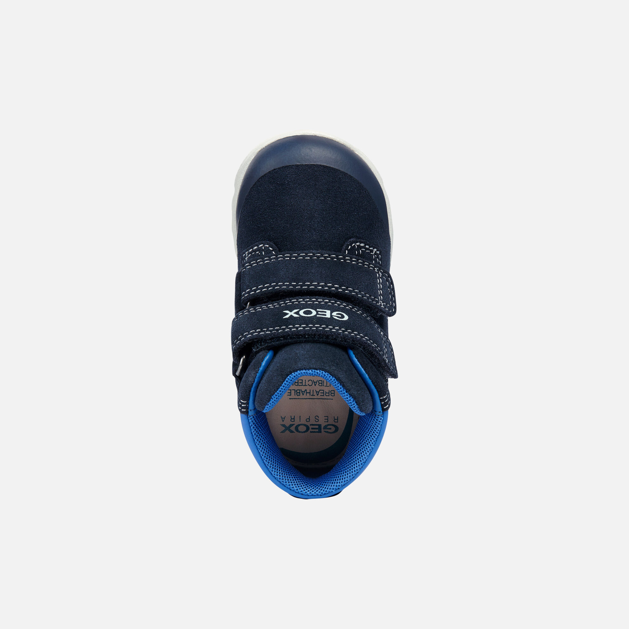 Geox XUNDAY Baby Boy: Blue Ankle Boots