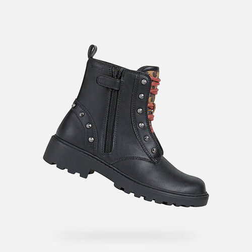 MID-CALF BOOTS GIRL GEOX CASEY GIRL - null
