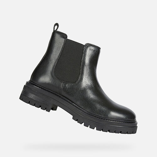 ANKLE BOOTS WOMAN GEOX IRIDEA WOMAN - null