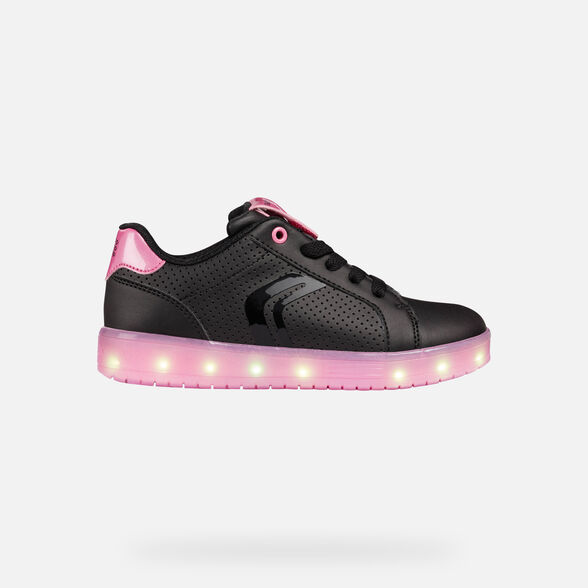 CHAUSSURES LED FILLE GEOX KOMMODOR FILLE - 9