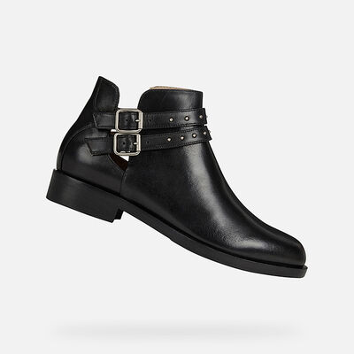ANKLE BOOTS WOMAN GEOX BROGUE WOMAN