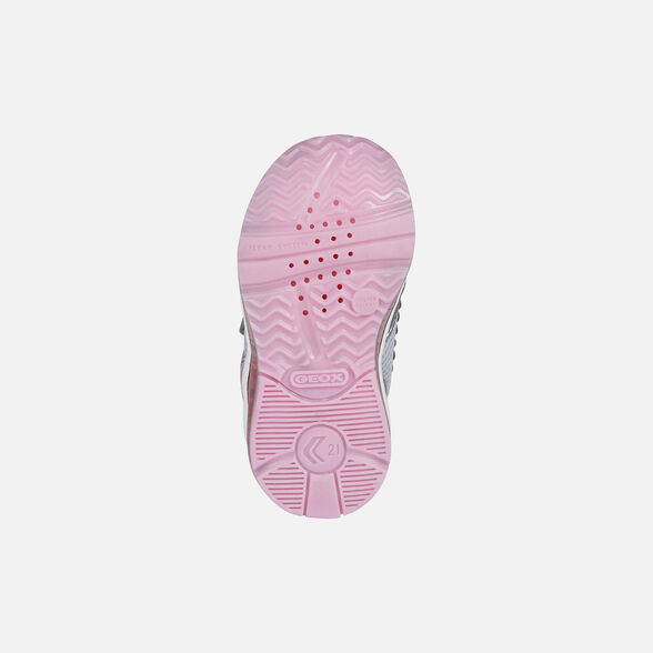 BABY LIGHT-UP SHOES GEOX TODO BABY GIRL - 7