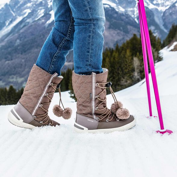 BOTTINES FILLE GEOX SLEIGH ABX FILLE - 9