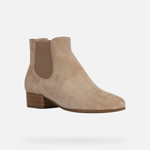 WOMAN ANKLE BOOTS GEOX PEYTHON WOMAN - 3