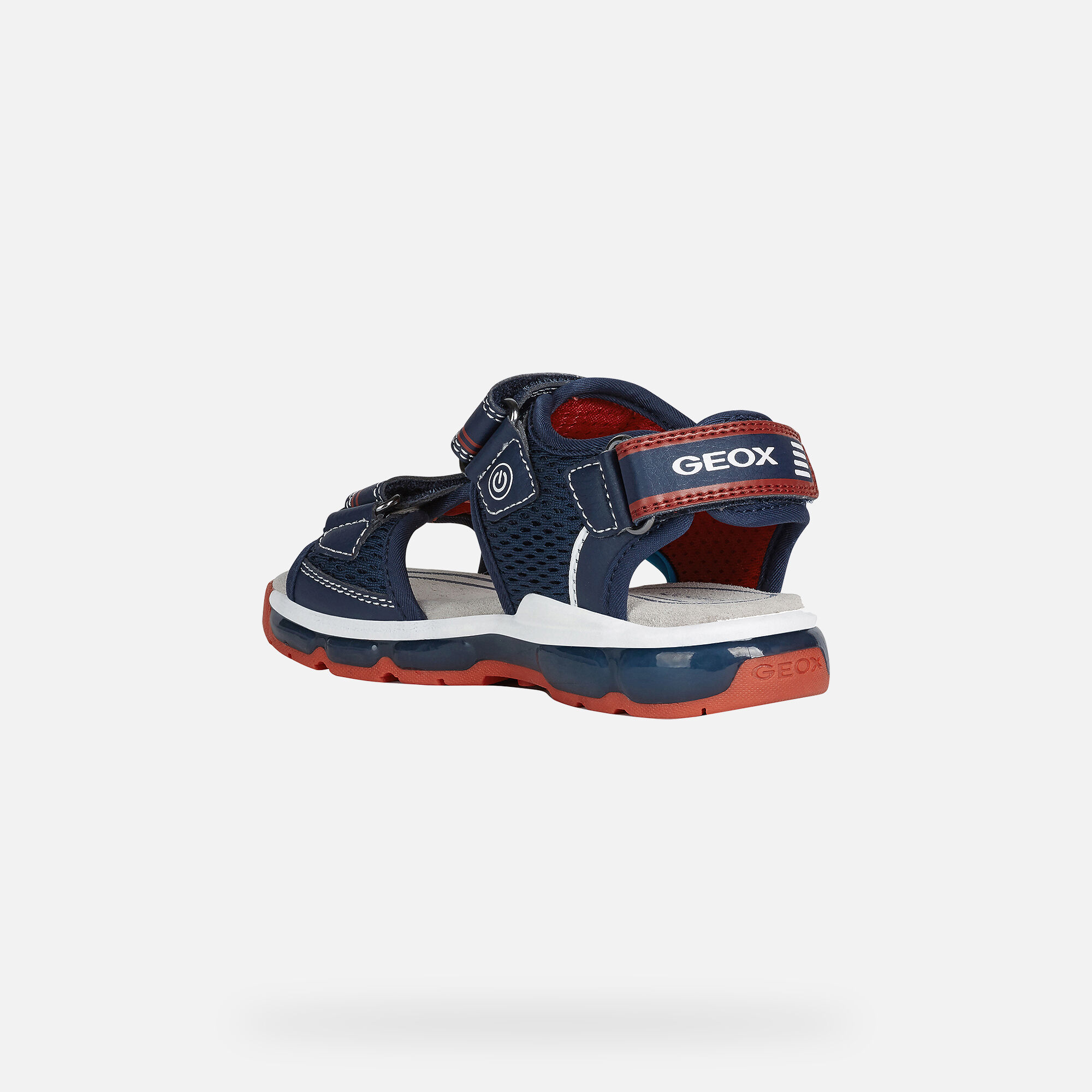 Geox ANDROID Boy: Navy Sneakers | Geox SS20