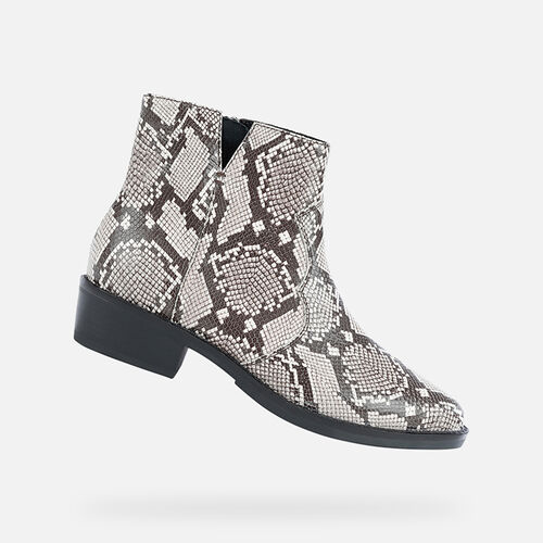 ANKLE BOOTS WOMAN GEOX TEOCLEA WOMAN - null
