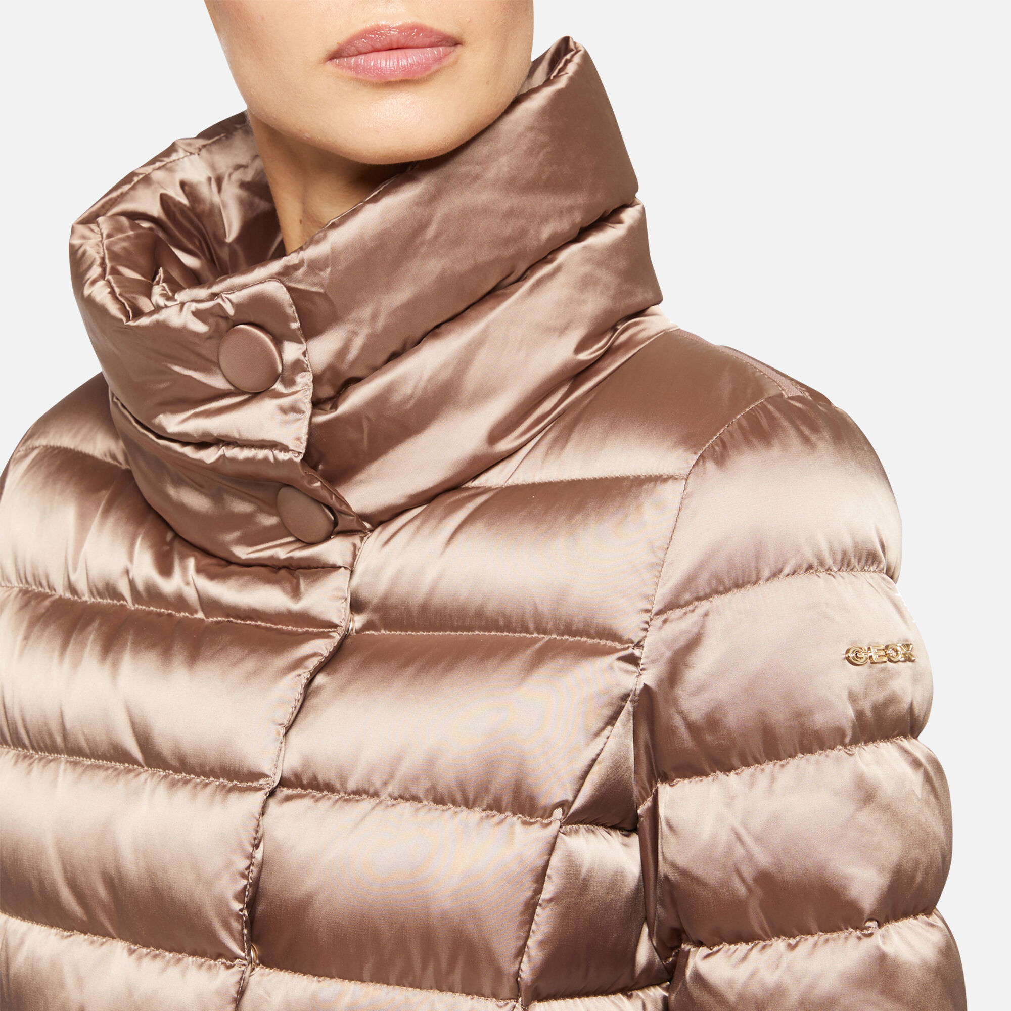 Geox CHLOO Woman: Powder Down Jacket | Geox ® Official Store