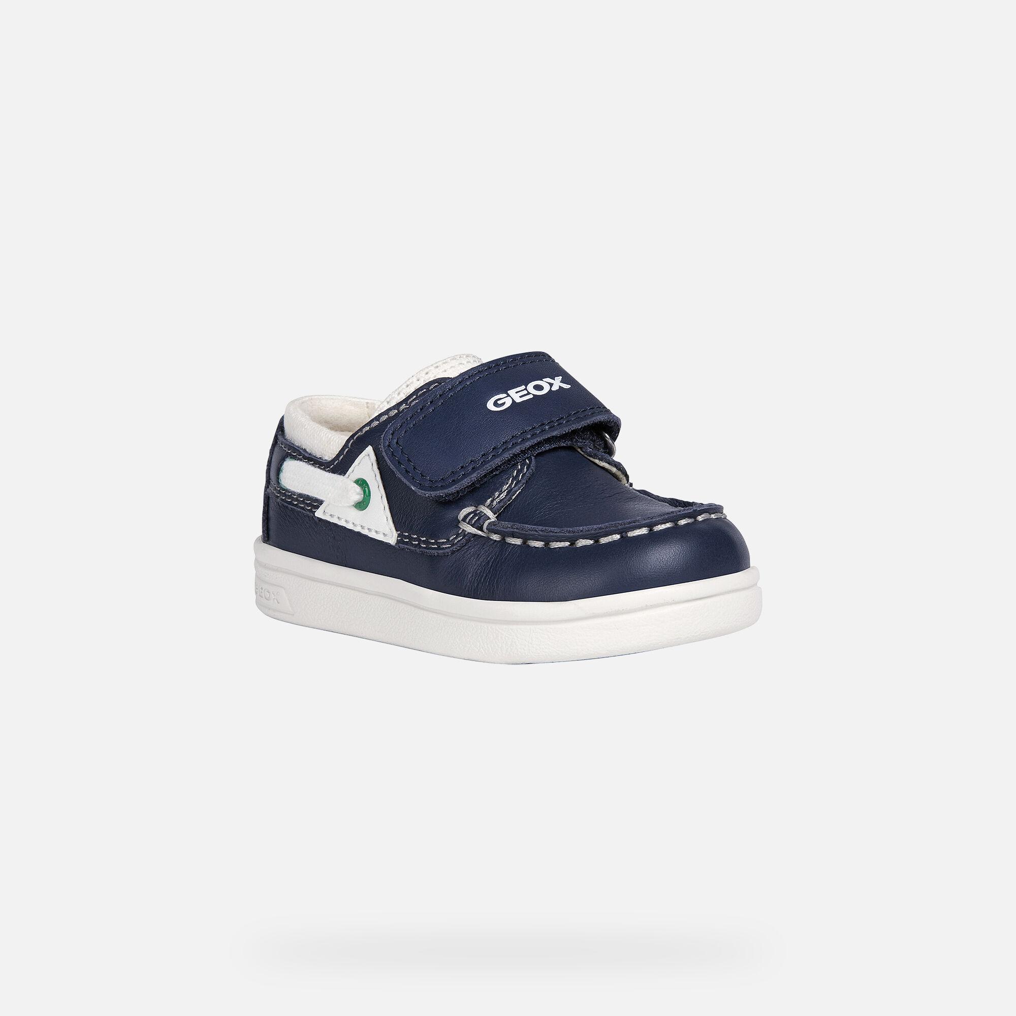 Geox DJROCK BABY Boy: Navy Loafers