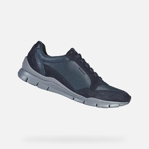 ayuda patrulla Aptitud  Geox SUKIE Woman: Navy blue Sneakers | Geox® Online