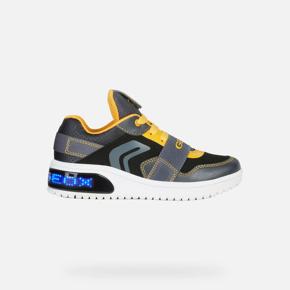 LIGHT-UP SHOES BOY GEOX XLED BOY - 8