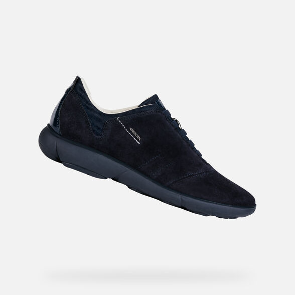 Pasteles par Inconveniencia  Geox NEBULA Woman: Navy blue Sneakers | Geox® Fall Winter