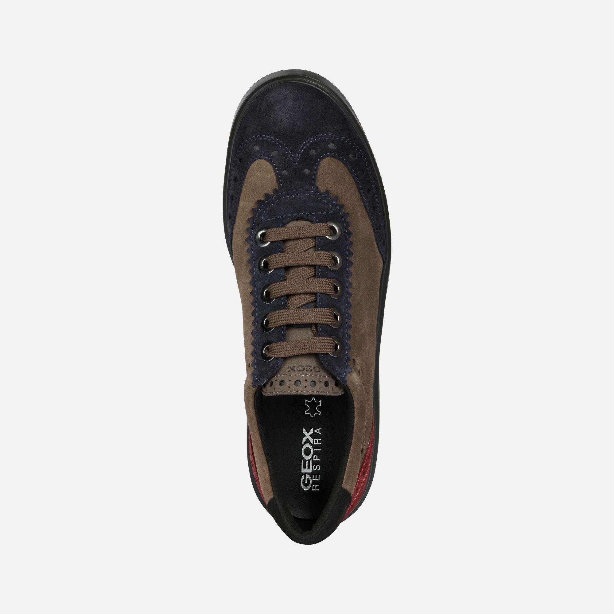Geox KAULA Woman Brown Sneakers   Geox