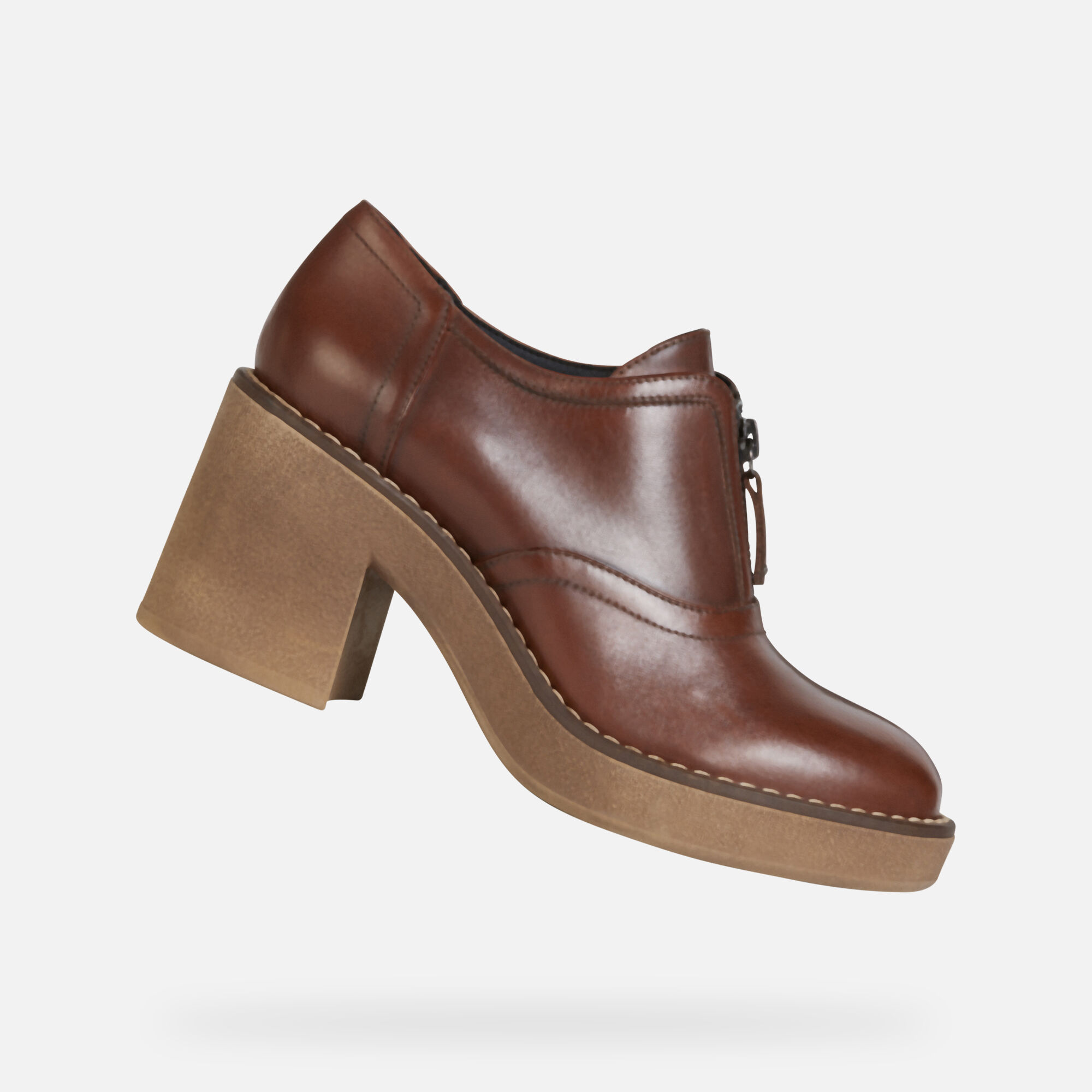 Femme Mid 1920 Chaussures Geox Marrons® Adrya dthrsQ