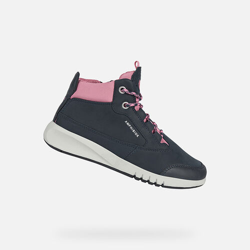 ANKLE BOOTS GIRL GEOX AERANTER ABX GIRL - null