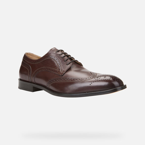 LEATHER MAN GEOX SAYMORE - 3