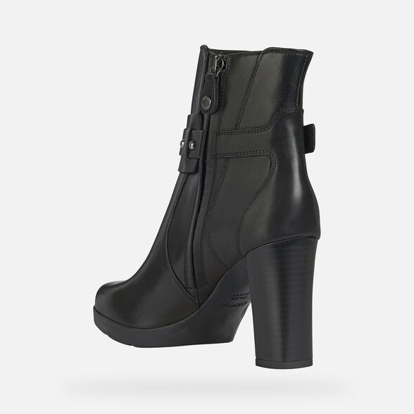 WOMAN ANKLE BOOTS GEOX ANYLLA HIGH WOMAN - 4