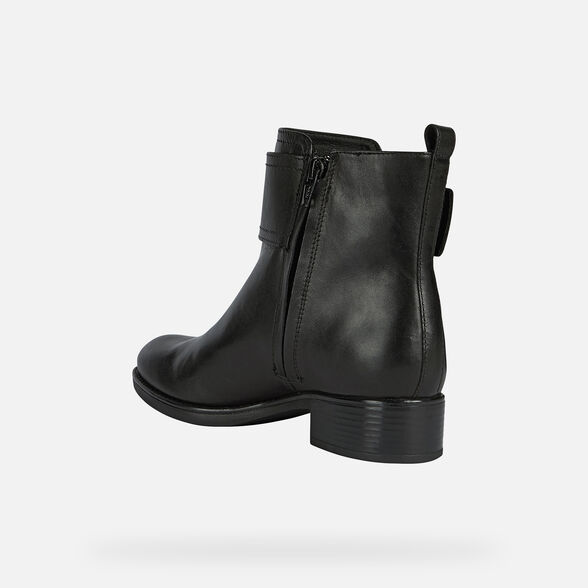 WOMAN ANKLE BOOTS GEOX FELICITY NP ABX WOMAN - 4