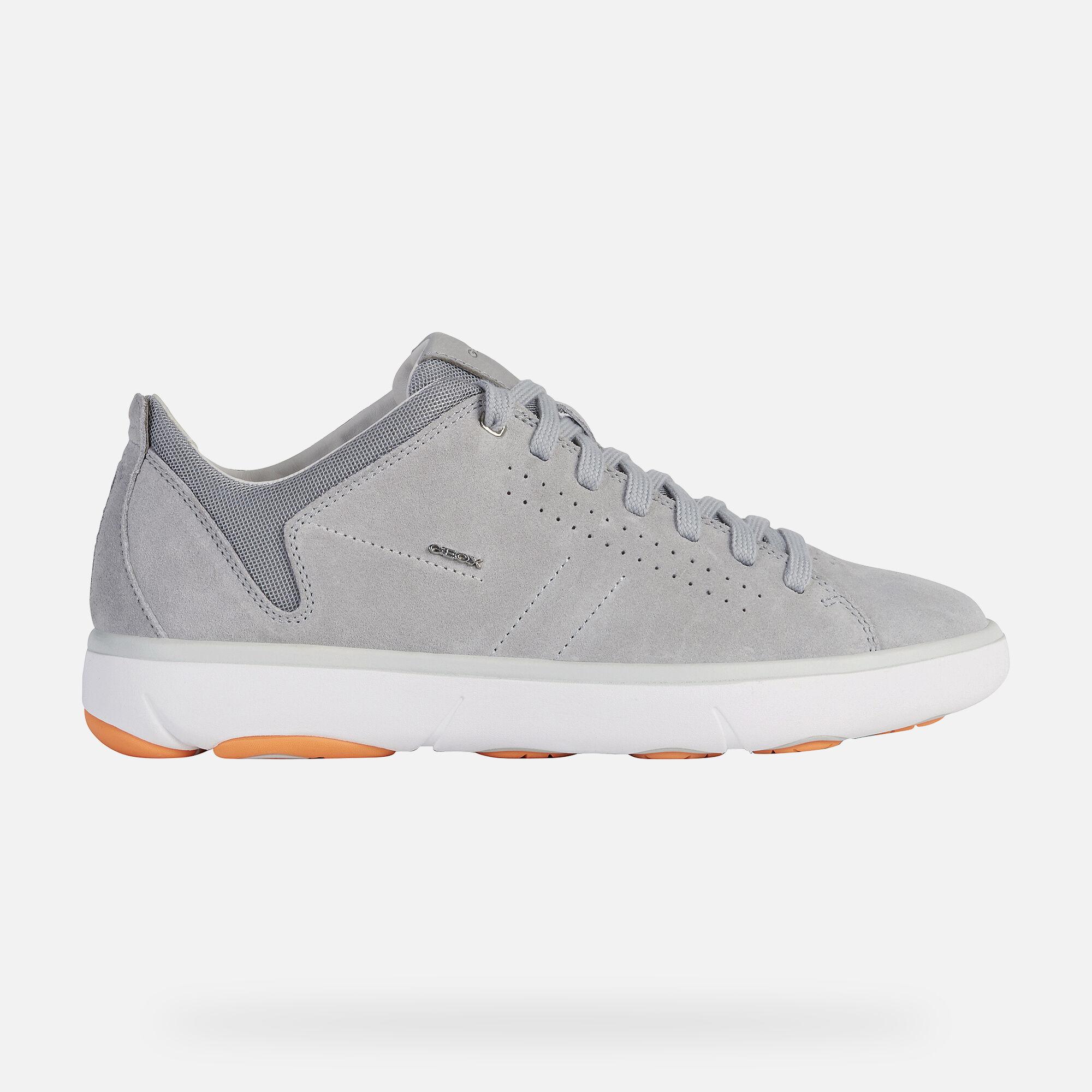 Geox NEBULA Y Man: Light grey Sneakers