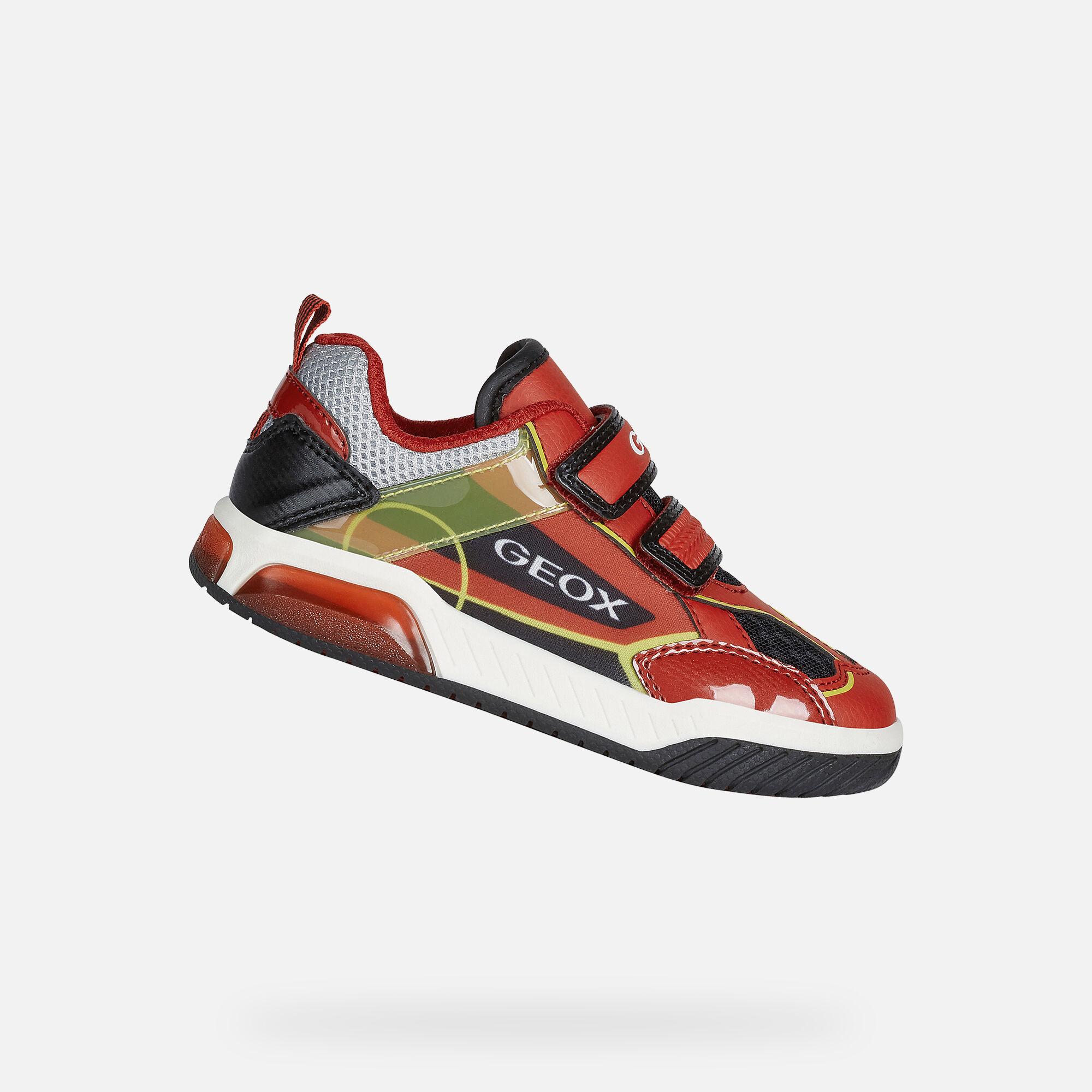 Geox INEK Niño: Sneakers Rojos   Geox ®