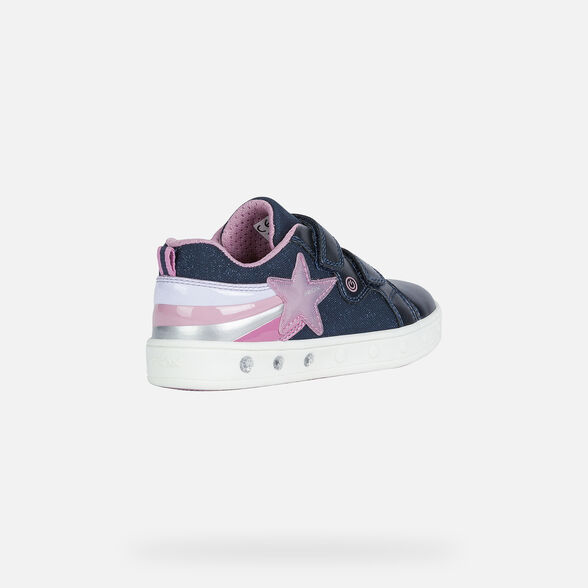 FILLE CHAUSSURES LED GEOX SKYLIN FILLE - 5