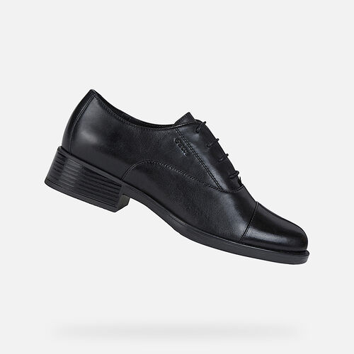LACE UPS AND BROGUES WOMAN GEOX RESIA WOMAN - null