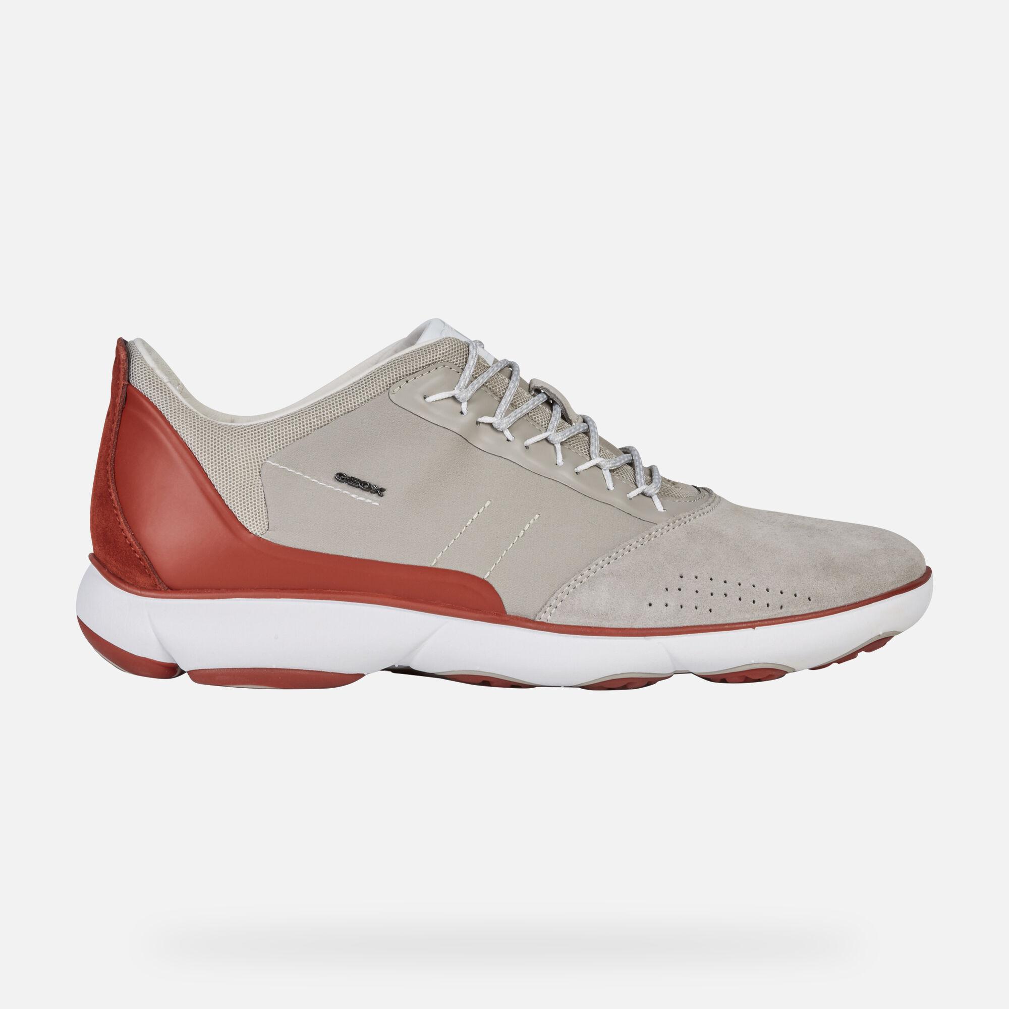 scarpe da ginnastica geox con luci, GEOX Giubbotto Rosso