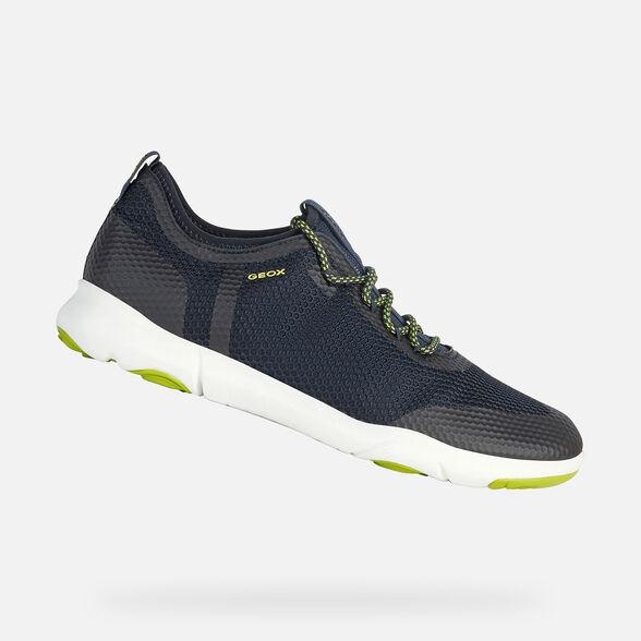 diseño de variedad hermosa en color precio inmejorable Geox NEBULA X Man: Navy Sneakers | Geox Spring/Summer