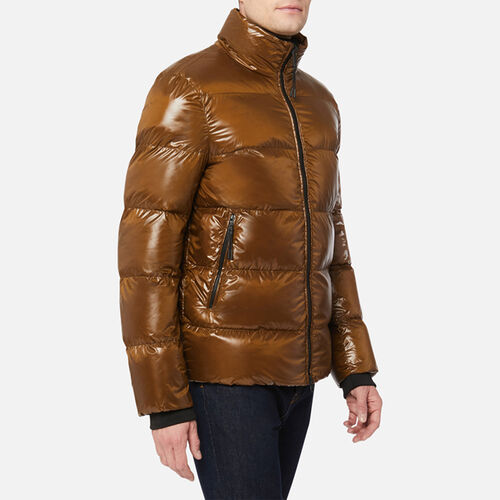 DOWN JACKETS MAN GEOX SILE MAN - null