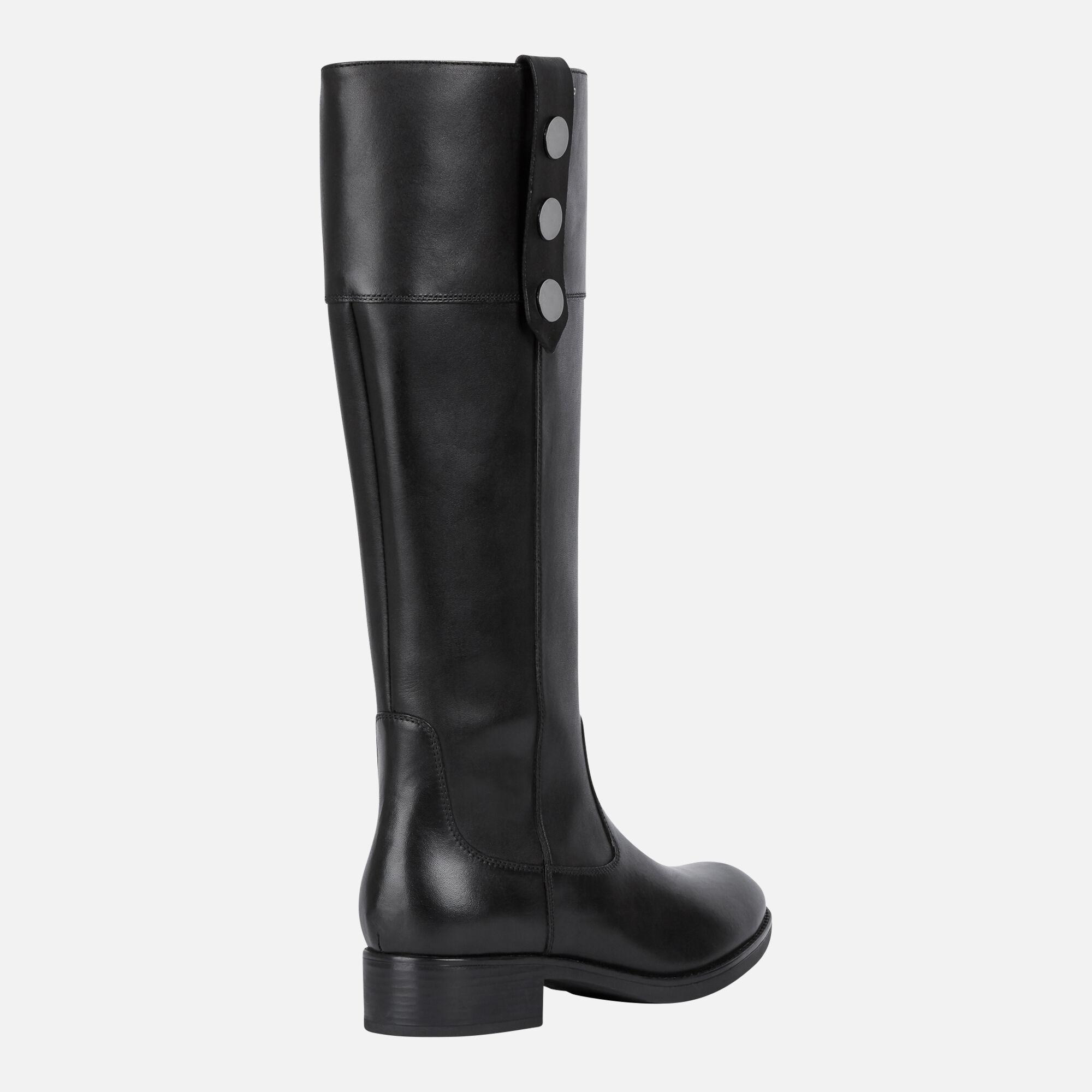 Geox Women's D FELICITY NP ABX Black Boots | Geox Fall Winter