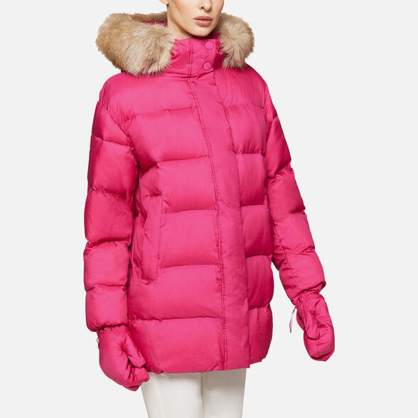 DOWN JACKETS WOMAN GEOX EMALISE WOMAN - 6