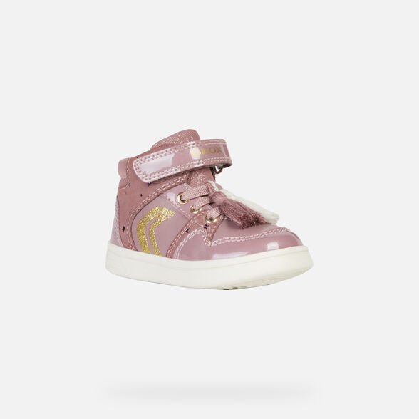 HIGH TOP BABY GEOX DJROCK BABY GIRL - 3