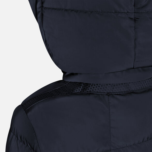 DOWN JACKETS WOMAN GEOX ASHEELY WOMAN - GOTHIC BLUE