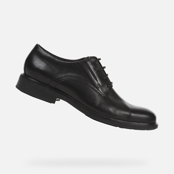 huge discount 7e141 012d9 Geox DUBLIN Man Black Shoes | Geox ® FW 19/20