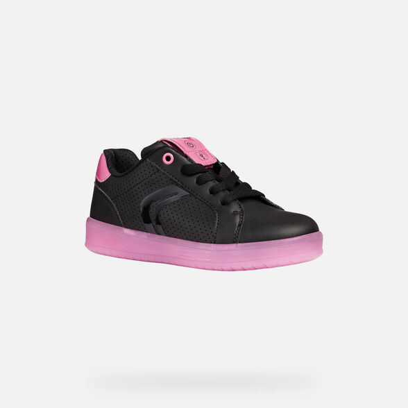 CHAUSSURES LED FILLE GEOX KOMMODOR FILLE - 4