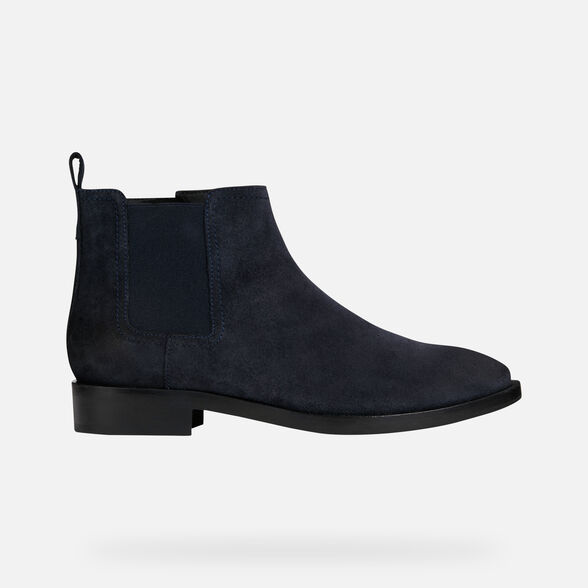 ANKLE BOOTS WOMAN GEOX BROGUE WOMAN - 3