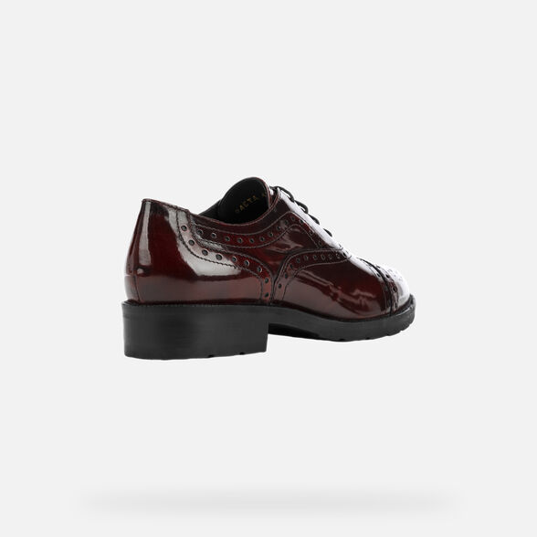 LACE UPS AND BROGUES WOMAN GEOX BETTANIE WOMAN - 5