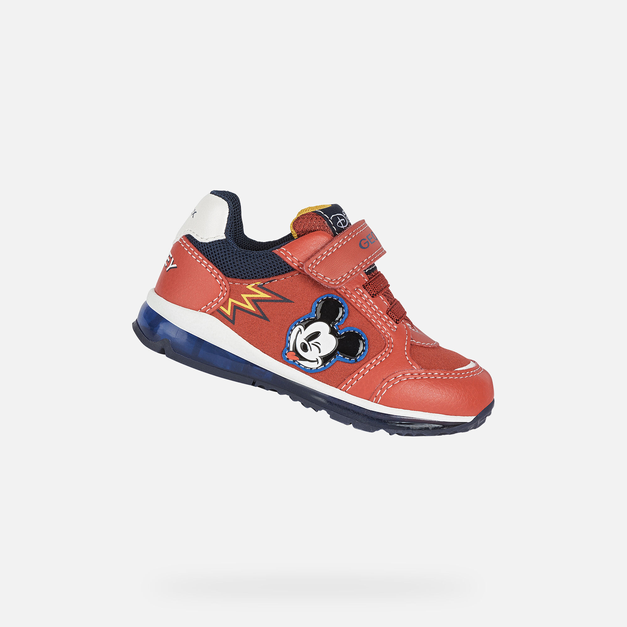 Geox TODO BOY Baby Boy: Red Sneakers