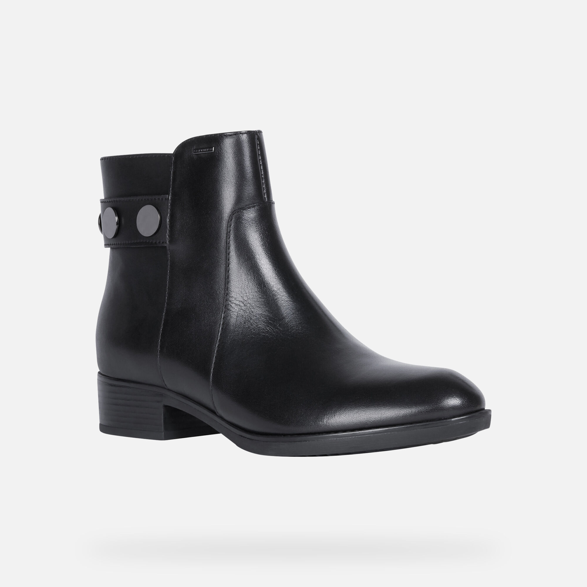 Geox FELICITY NP ABX Woman: Black Ankle Boots | Geox FW1920
