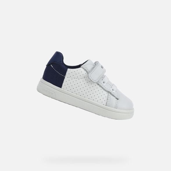 Emular Arqueología tempo  Geox DJROCK BOY Bébé Garçon: Sneakers Blanches   Geox®