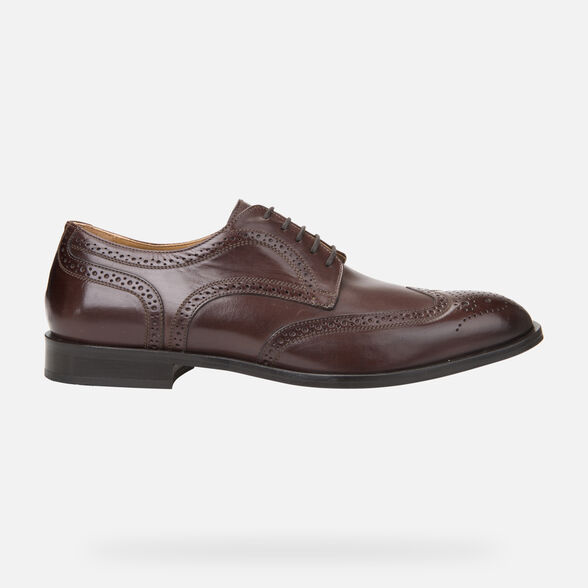 LEATHER MAN GEOX SAYMORE - 2