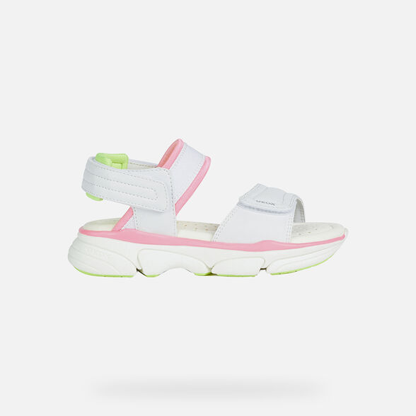 GIRL SANDALS GEOX LUNARE GIRL - 2